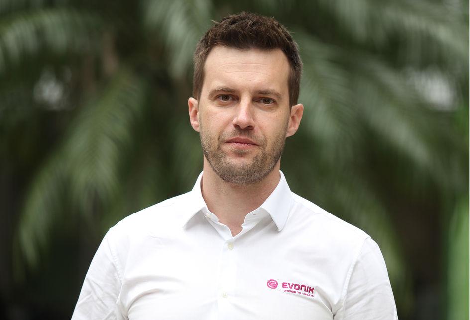 Henrique Gastmann Brand, Gerente Técnico de Serviços da Evonik
